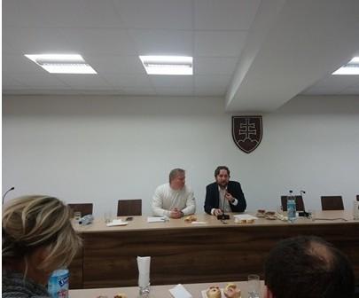 Diskusia s poslancom NR SR Ľubošom Blahom